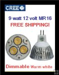 12 Volt MR16 Down light replacement Warm white
