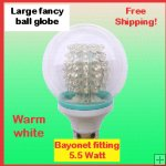 Large fancy ball globe Warm white